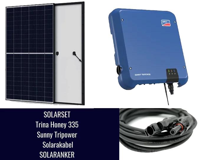 10050 Watt Solaranlage